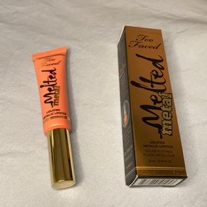 2/$25 Too Faced Melted Metal Liquified Lipstick